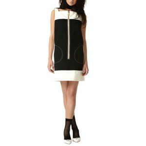Tracy Feith For Target Black and White Mod Dress